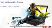 Technical Support For Toshiba